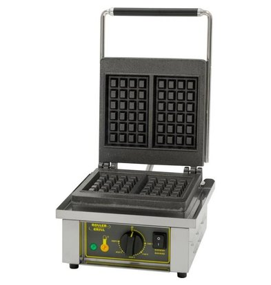 Roller Grill Gaufriers | Forme Liège | 1,6 kW | 305x440x(h)230mm