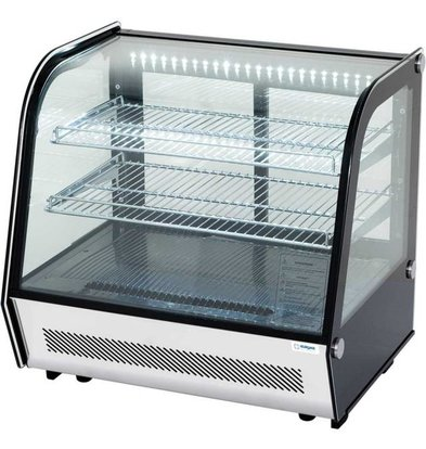 Stalgast Vitrine Réfrigérée | avec LED | 120L | 702x568x(h)686mm