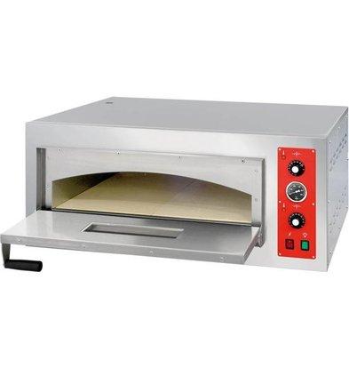 Stalgast Four à Pizza | 4 Pizzas 32 cm | 4,45kW | 975x761x(h)415mm