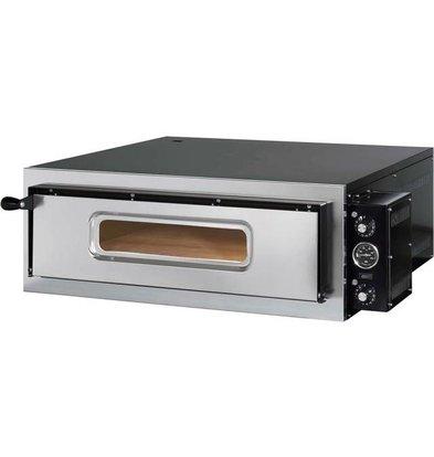 Stalgast Four à Pizza | Gredil | 4 Pizzas 35cm | 4,8 KW | 835x835x(h)335mm
