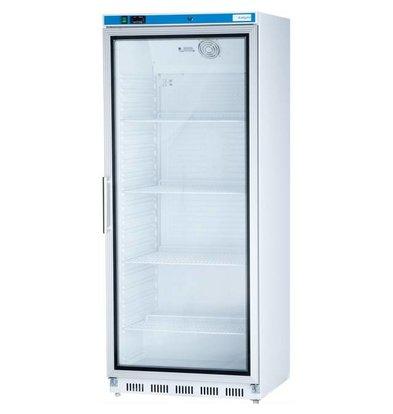 Stalgast Réfrigérateur avec Porte Vitrée | 620L | 0,19kW | 780x695x(h)1895mm