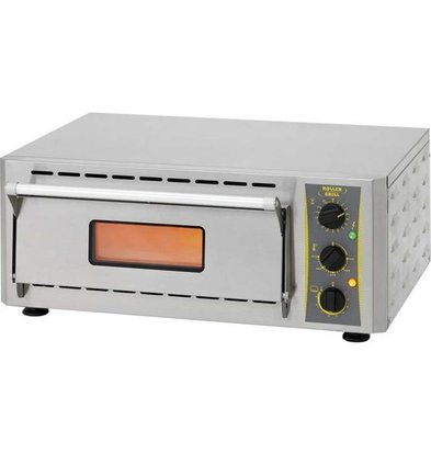 Roller Grill Four à Pizza | Chamotte | 3kW | 670x580x(h)270mm
