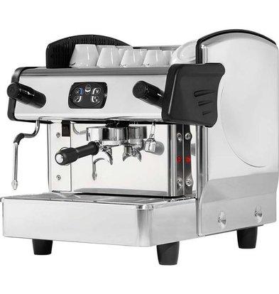 Stalgast Machine à Café | 1 Groupe | 460x590x(h)530mm | 6L | 2,8 KW