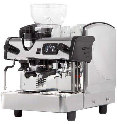 Stalgast Machine à Café | 1 groupe | avec Moulin | 6L | 460x590x(h)630mm