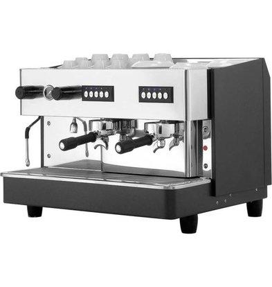 Stalgast Machine à Café | 2 groupes | 11,5L | 650x530x(h)430mm | 2,5KW