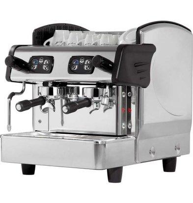 Stalgast Machine à Café | 2 Groupes | 6L | 460x590x(h)530mm | 2,8KW