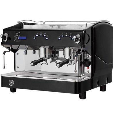 Stalgast Machine à Café | Expresso| 2 groupes | Rosetta | 11,5L | 680x590x(h)550mm | 4,79 KW