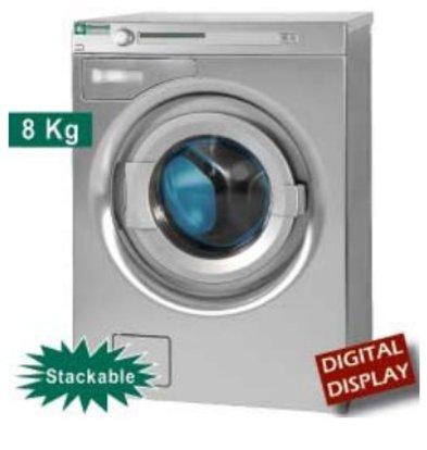 "Diamond Lave-linge à super essorage,  8 kg ""inox"" | Bruyant | 400v | 720x927x(h)1039mm"