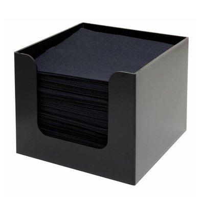 Bar Professional Porte-Serviettes | Noir | 300x300x(h)300mm