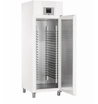 Liebherr Réfrigérateur de Boulangerie | Blanc | ProfiLine | 20 Porte-Grilles - 400x600mm | Liebherr | 601 Litres | BKPv 6520 | 700x830x(h)2150mm