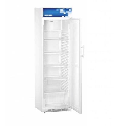 Liebherr Réfrigérateur | Blanc avec Porte en Acier | Liebherr | 411 Litres | FKDv 4211 | 600x687x(h)2010mm