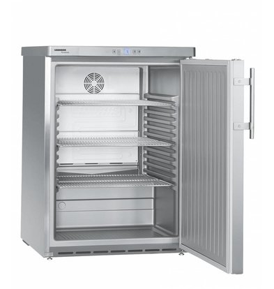 Liebherr Réfrigérateur | Modèle de Table | Inox | Dynamic | Liebherr | 141 Litres | FKUv 1660 | 600x610x(h)830mm