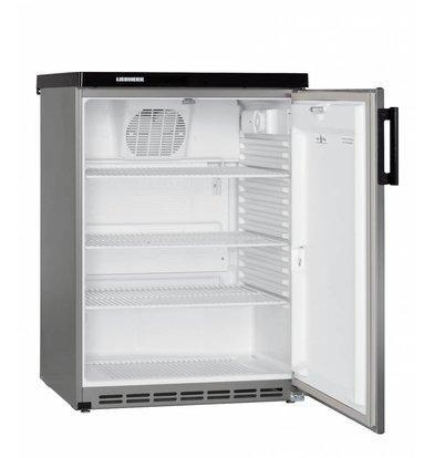 Liebherr Réfrigérateur | Modèle de Table | Inox | Dynamic | Liebherr | 180 Litres | Fkvesf 1805 | 600x600x(h)853mm
