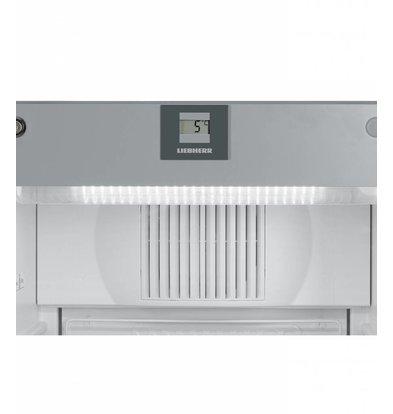Liebherr Réfrigérateur | Gris Acier | Dynamic | Porte en Verre | Liebherr | 250 Litres | FKvsl 2613 | 600x610x(h)1250mm