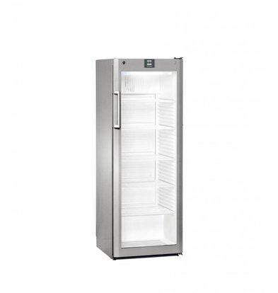 Liebherr Réfrigérateur | Gris Acier | Dynamic | Porte en Verre | Liebherr | 348 Litres | Fkvsl 3613 | 600x610x(h)1640mm