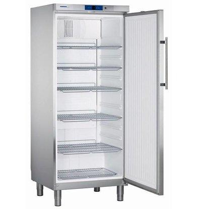 Liebherr Réfrigérateur | Inox | Gastronomie | sur Pieds | Liebherr | 583 Litres | 2/1 GN | GKv 5760 | 750x750x(h)1860mm