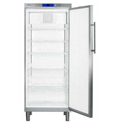 Liebherr Réfrigérateur | Inox | Gastronomie | sur Pieds | Liebherr | 583 Litres | 2/1 GN | GKv 5790 | 750x750x(h)1860mm
