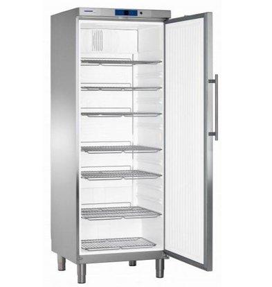 Liebherr Réfrigérateur | Inox | Gastronomie | sur Pieds | Liebherr | 663 Litres | GKv 6460 | 750x750x(h)2060mm