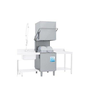 Emga Lave Vaisselle | 50x50cm | 90 ou 150 secondes | Doseur de Produit de Rinçage | 400V