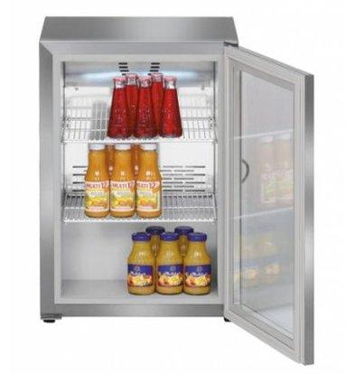 Liebherr Minibar | Inox | Porte en Verre | Liebherr | 45 Litres | FKv 503 | 430x450x(h)610mm