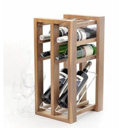 Bar Professional Présentoir à Vin | Convient pour Six Bouteilles
