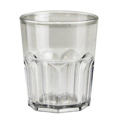 Bar Professional Mini Verre | en Plastique SAN | 16cl | Lot de 8 Pièces