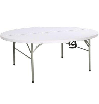 Bolero Table Ronde | Pliante par le Centre | Bolero | 1,8m