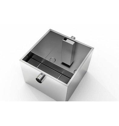 Combisteel Déshuileur INOX | 36 Litres/minute | Capacité 9kg
