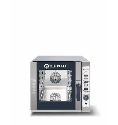 Hendi Four Combi à Vapeur | Numérique | Nano | 5x 1/1 GN |  700x714x(H)628mm