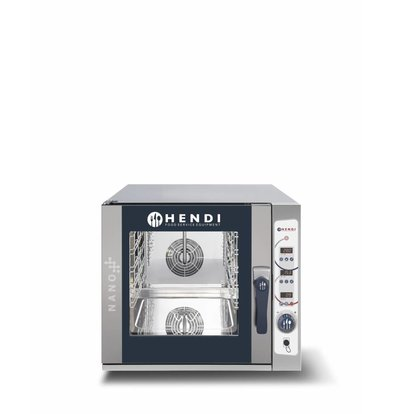 Hendi Four Combi à Vapeur | Numérique | Nano | 5x GN 2/3 |  700x714x(H)628mm