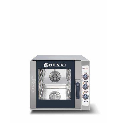 Hendi Four Mixte Combi à Vapeur | Nano | 5x 1/1 GN |  700x714x(H)628mm