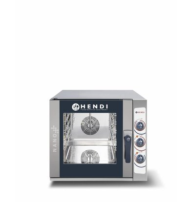 Hendi Four Mixte Combi à Vapeur | Nano | 5x  GN2/3 |  700x714x(H)628mm