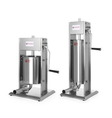 Hendi Machine à Saucisse | Profi Line | 5 Litres | 300x340x(H)690mm