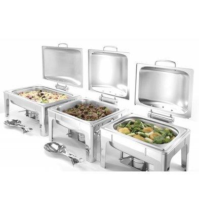 Hendi Chafing Dish 1/1 GN |  Inox Mate | 9 Litres | 570x405x(H)290mm