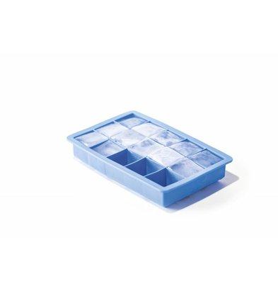 Hendi Moule à Glaçons Cube | 15 Glaçons | Silicone | 190x120x(H)35mm