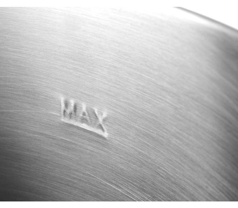 Hendi Distributeur de Boissons Chaudes | Inox | 28 Litres | avec Robinet | 447x441x(H)485mm