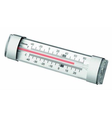 Bartscher Thermomètre pour Réfrigérateur | -40 à 25°C | 134x20x(h)30mm