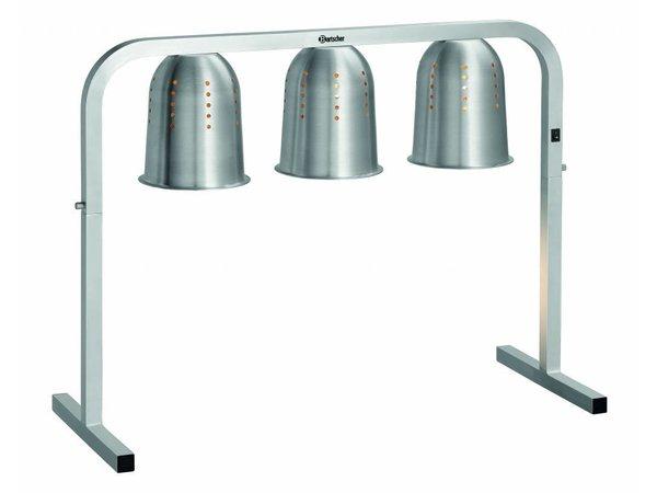 Bartscher Pont Thermique Infrarouge | I3WL820 | Format GN 2/1 | 810x340x(H)610mm