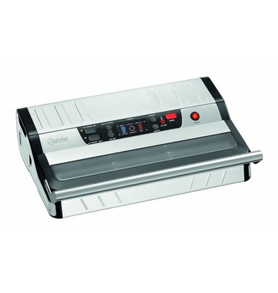 Bartscher Machine Sous-Vide | 420mm | 20L /min  | 2 Cordons de Soudure | 0,35 kW | 500x395x(H)140mm