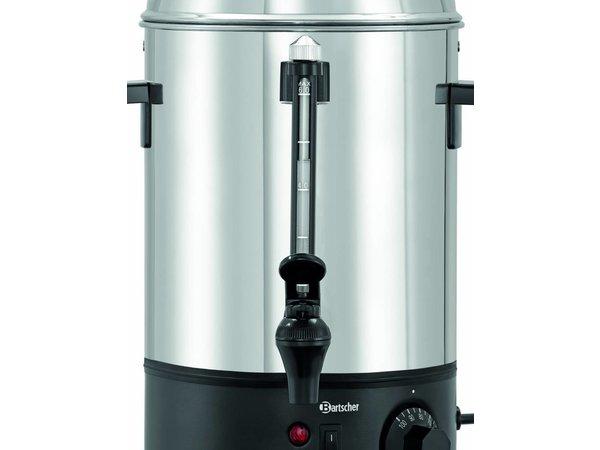 Bartscher Distributeur d'Eau Chaude | Inox | 6 Litres | 1,8 kW | 280x290x(H)385mm