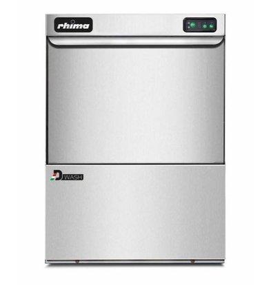 Rhima Lave-Vaisselle | 50x50cm | Rhima DWash T50 | Glaze + Distributeur de Savon + Pompe de Vidange