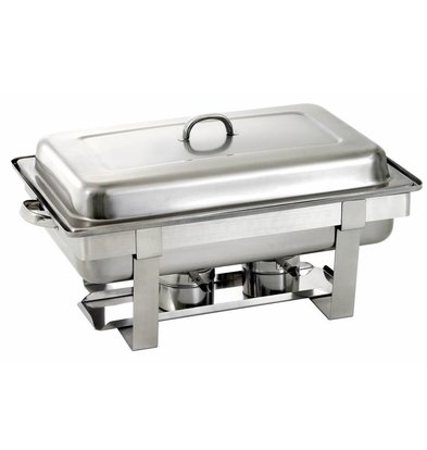 Saro Chafing Dish Complet   Universel   GN 1/1   620x360x(h)250/310mm