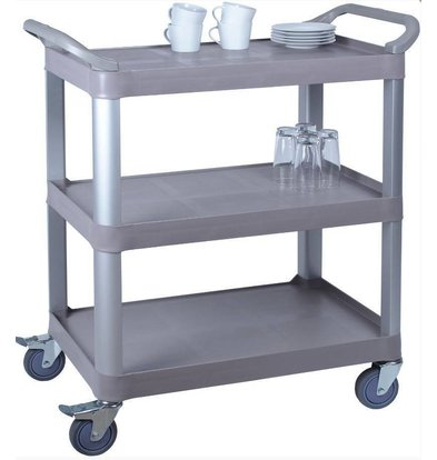 Saro Chariot de Service | Polypropylène | 3 Plateaux | 100 kg | 845x430x(h)950mm