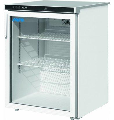 Saro Armoire Réfrigérée Ventilée   Porte en Verre   2 Grilles Réglables   180L   600x600x850(h)mm