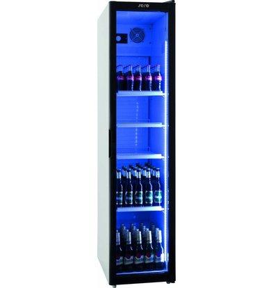 Saro Armoire Réfrigérée Ventilée   sur Roues   301L   4 Grilles Réglables   448x680x1900(h)mm