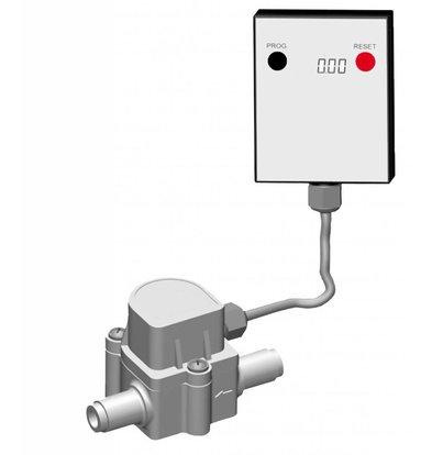 Bartscher Compteur d'eau | Pour Filtre Eau | 45x90x(h)50mm