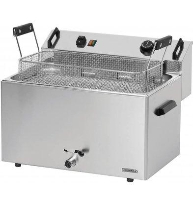 Casselin Friteuse à Beignets | Electrique | Zone Froide | 16 litres | 400V | 9kW | 540x450x(h)370mm