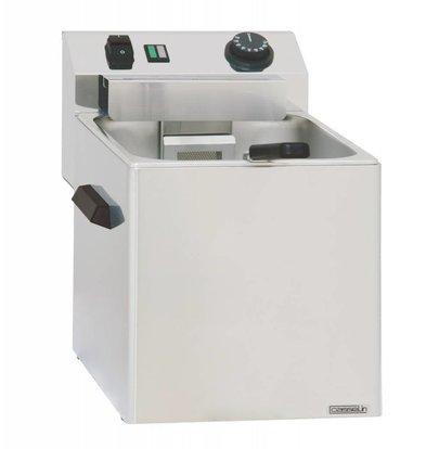 Casselin Cuiseur à Pâtes | Electrique | Modèle de Table | 3400W | avec 1 ou 3 Paniers | 270x420x(H)300mm