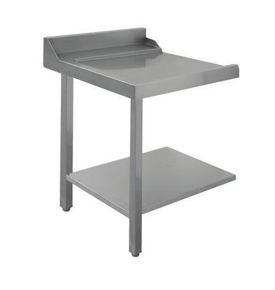 Bartscher Table Gliss| À Gauche | Inox 18/10 | 700X720X(h)850m