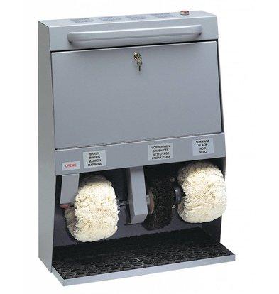 Diamond Machine de Nettoyage de Chaussures | 3 Brosses | 600x300x(h)820mm